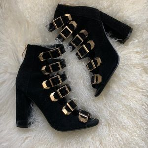 Black Booties size 9